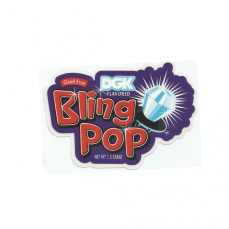 Adesivo DGK Blig Pop - (7cm x 10,5cm)