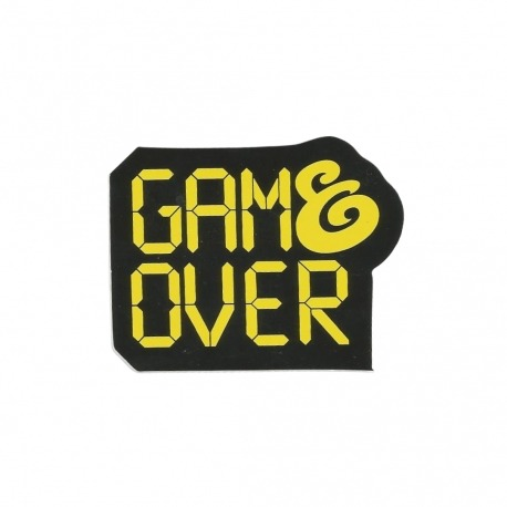 Adesivo Expedition Game Over -  (6cm x 7,5cm)
