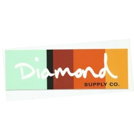 Adesivo Diamond OG Script Colours - (7cm x 20cm)