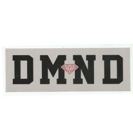 Adesivo Diamond DMND Grey/Black - (7cm x 20cm)