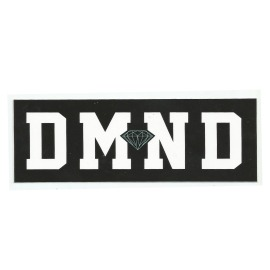 Adesivo Diamond DMND Black/White - (7cm x 20cm)
