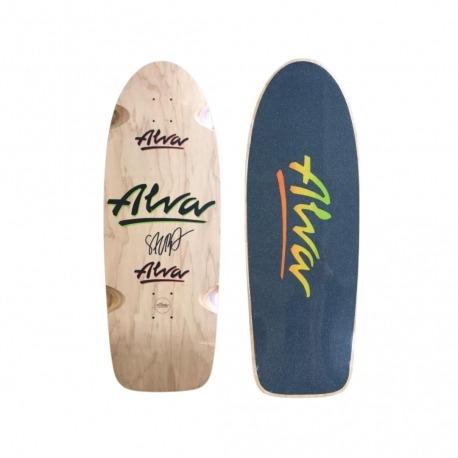 Shape Alva Autografado com Lixa (Assinado por atleta)