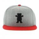 Boné Grizzly OG Bear - Cinza