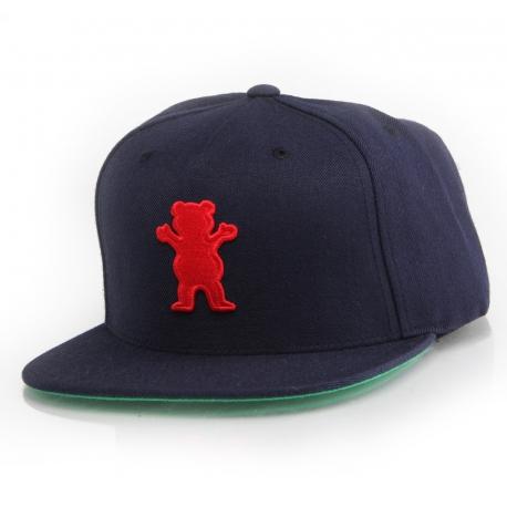 Boné Grizzly OG Bear Snapback - Azul