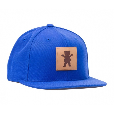 Boné Grizzly Embossed Snapback - Azul
