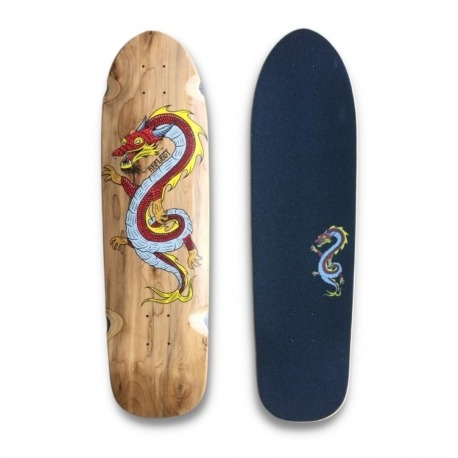 Shape Reflect Wood is Cool Dragon - Red