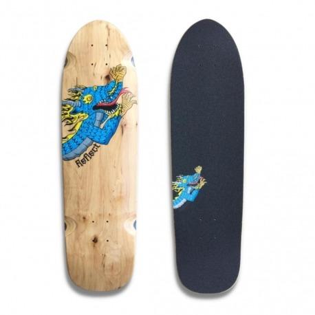 Shape Reflect Wood is Cool Dragon - Blue