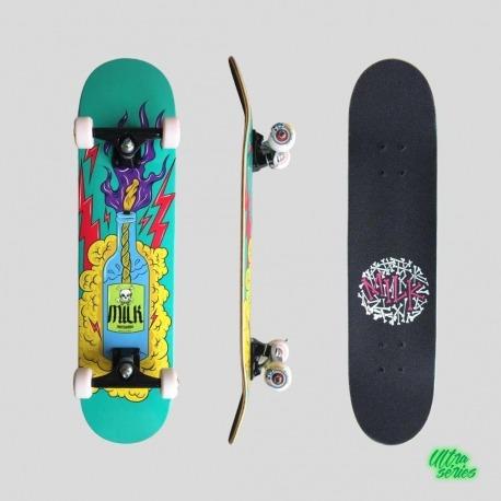 Skate Montado Milk x Ratones Molotov