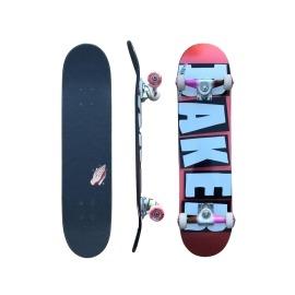 Skate Montado Baker Brand Logo Foil  Red