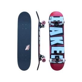 Skate Montado Baker Brand Logo Red