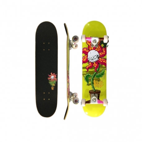 Skate Montado Milk x Ratones Flower C/ Truck Royal