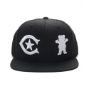 Boné Grizzly x Central Snapback - Preto