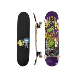 Skate Montado Milk x Ratones Scarecrow c/ Truck Revenge