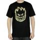 Camiseta Spitfire Cheebahead - Preta