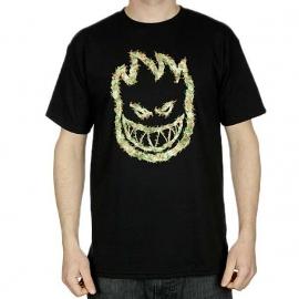 Camiseta Spitfire Bighead Kush - Preta