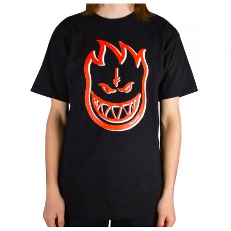 Camiseta Spitfire x Deathwish Big Head - Preta