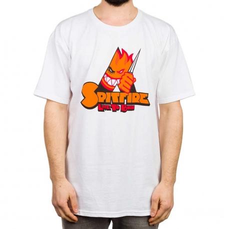 Camiseta Spitfire A Clockwork - Branca