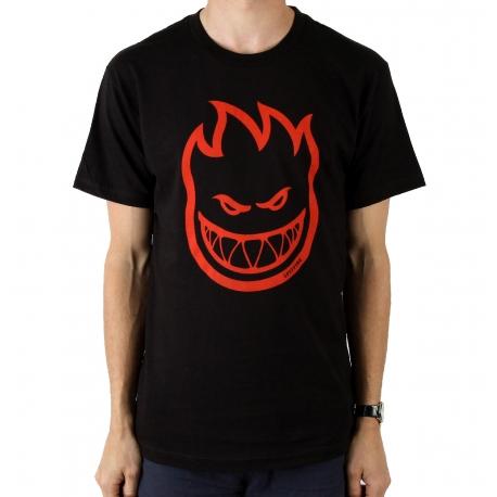 Camiseta Juvenil Spitfire BigHead Classic - Preta