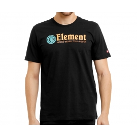 Camiseta Element Pack Logo - Preta
