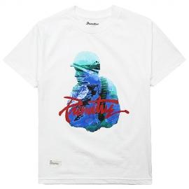 Camiseta Primitive Paradise Now - Branco
