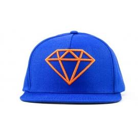 Boné Diamond Rock Logo Snapback - Azul