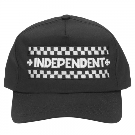 Boné Independent 5Panel Finish Line - Preto