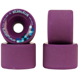 Roda Orangatang Stimulus 70mm 83a - Roxa