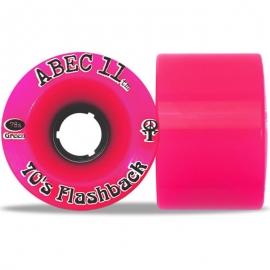 Roda Abec 11 70's Flashback 70mm 78a - Pink