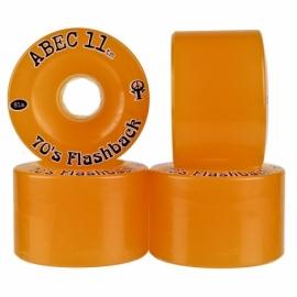 Roda Abec 11 70's Flashback 70mm 81a - Laranja