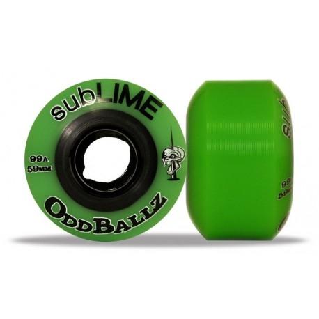 Roda Abec 11 Sublime OddBallz 59mm 99a