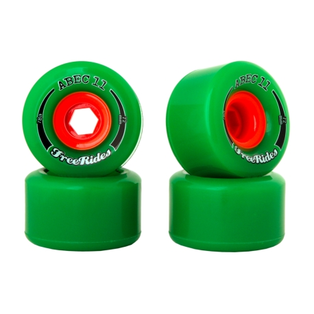 Roda Abec 11 FreeRides 72mm 78a
