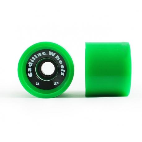 Roda Cadillacm74mm 80a - Verde