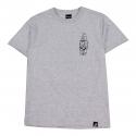 Camiseta Primitive Bullet - Cinza