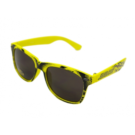 Óculos de Sol Santa Cruz Rob Face Amarelo