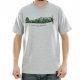 Camiseta Primitive Fighter Heather - Cinza