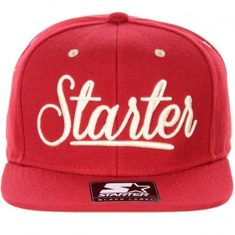 Boné Starter Black Label Slipper - Vermelho